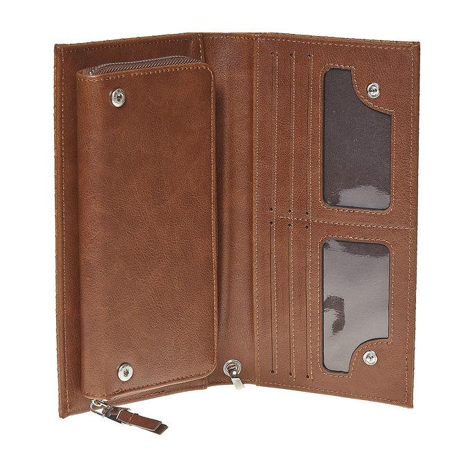 Dámská peněženka s poutkem bata, hnědá, 941-3148 - 15