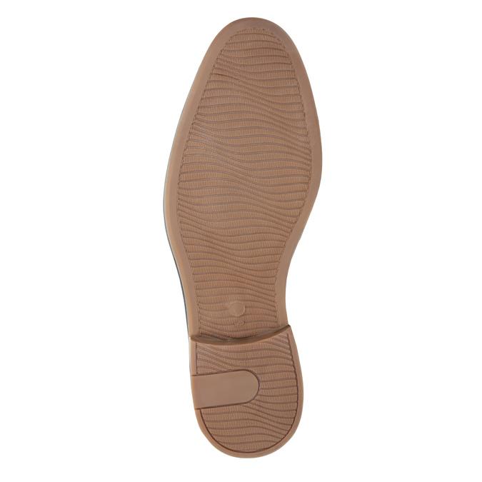 Pánské polobotky z broušené kůže bata, hnědá, 823-4606 - 26