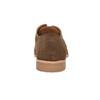 Kožené perforované polobotky bata, hnědá, 823-4601 - 17