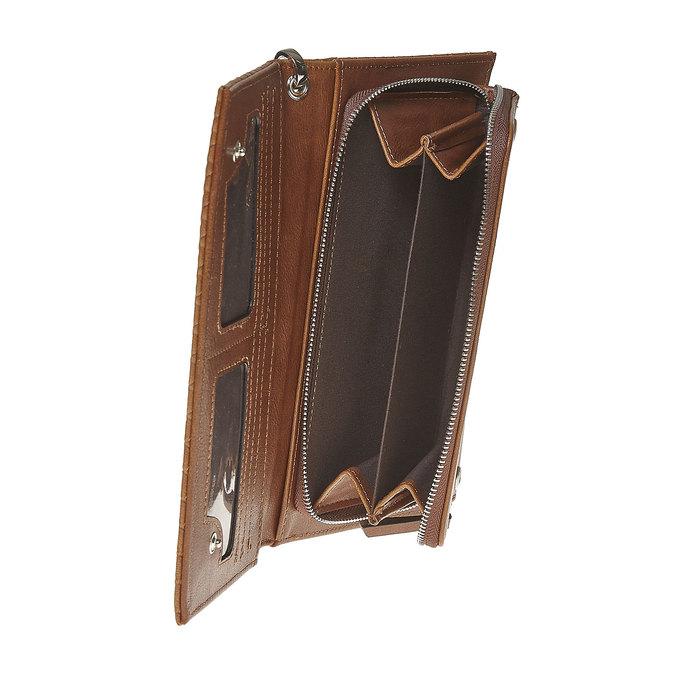 Dámská peněženka s poutkem bata, hnědá, 941-3148 - 17