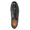 Kožené pánské polobotky černé bata, černá, 824-6907 - 19