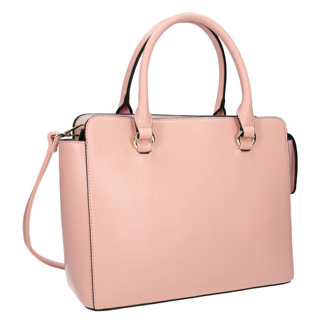 Růžová dámská kabelka bata, růžová, 961-8747 - 13