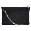Menší kabelka z broušené kůže vagabond, černá, 963-6001 - 26
