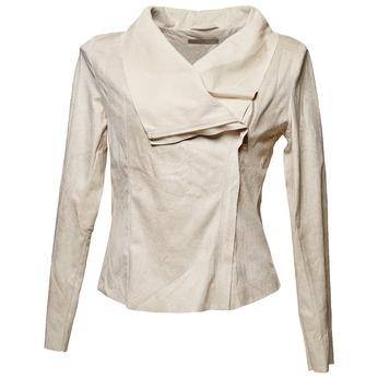 Dámská bunda s asymetrickým zipem bata, béžová, 979-8635 - 13