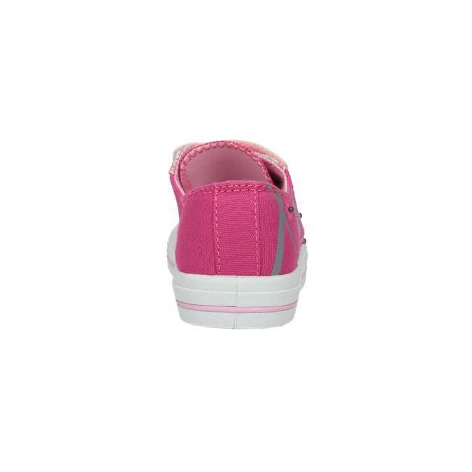 Růžové dívčí tenisky mini-b, růžová, 229-5183 - 17