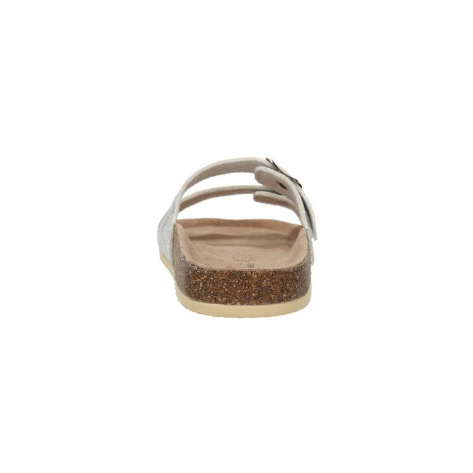 Dámská domácí obuv de-fonseca, šedá, 571-2600 - 17