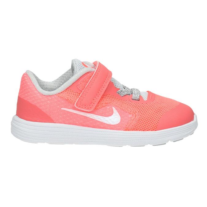 Dívčí růžové tenisky nike, růžová, 109-5549 - 15
