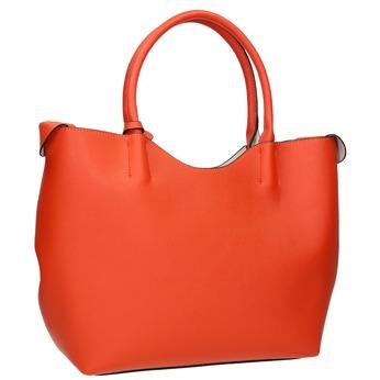Dámská kabelka s odnímatelnou taštičkou cafe-noir, červená, 961-5027 - 13