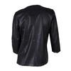 Dámská bunda s perforací bata, černá, 971-6166 - 26