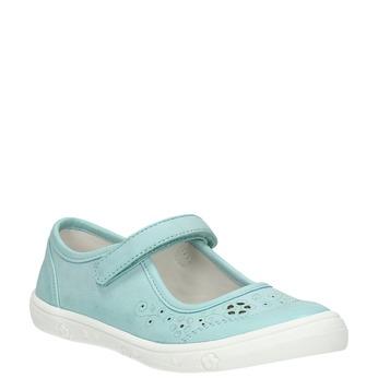 Dívčí obuv tyrkysová mini-b, tyrkysová, 221-7604 - 13
