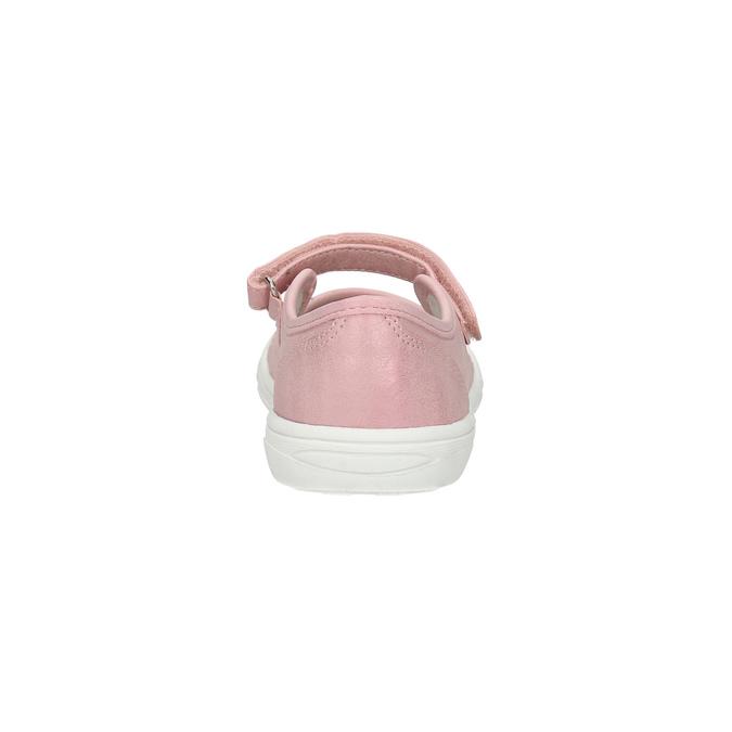 Dívčí růžová obuv mini-b, růžová, 221-5604 - 17