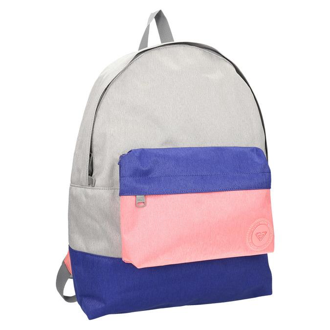 Barevný batoh roxy, šedá, 969-2051 - 13