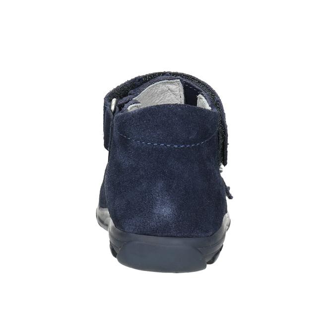 Kožené chlapecké sandály richter, modrá, 113-9024 - 17