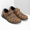 Kožené pánské sandály hnědé bata, hnědá, 864-4600 - 26