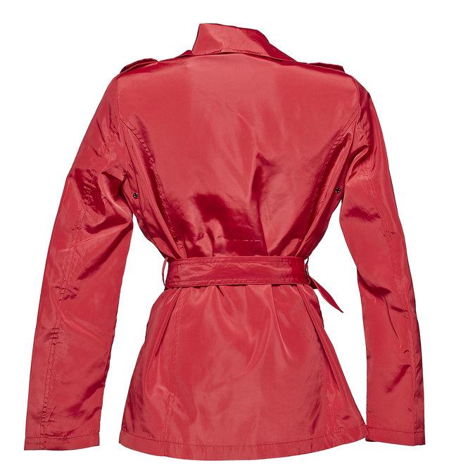 Dámský červený trenčkot bata, červená, 979-5205 - 26