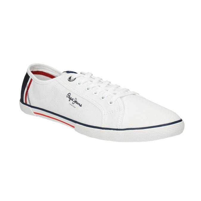 Pepe jeans Pánské bílé tenisky - Všechny boty  4e7600bb0e