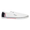 Pánské bílé tenisky pepe-jeans, bílá, 849-1015 - 15