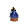 Kožené polobotky v Oxford stylu melvinandhamilton, modrá, 826-9060 - 17