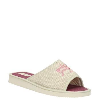 Dámská domácí obuv bata, béžová, 579-8618 - 13