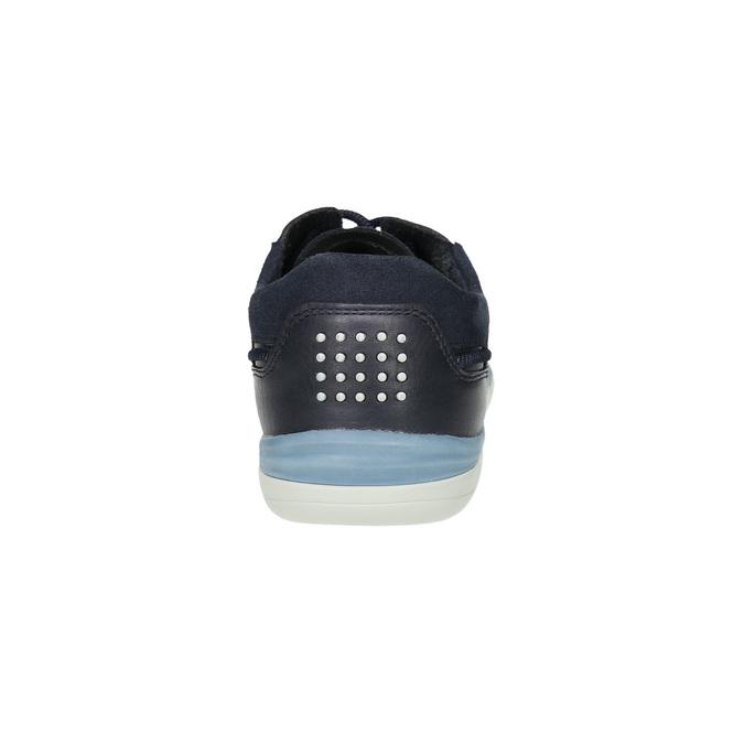 Pánské kožené tenisky tbs-, modrá, 846-9042 - 17