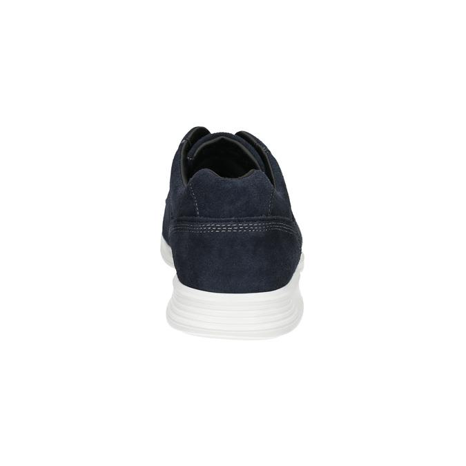 Polobotky z broušené kůže rockport, modrá, 826-9070 - 17