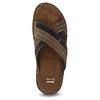 Kožené pánské letní nazouváky bata, hnědá, 866-4612 - 17