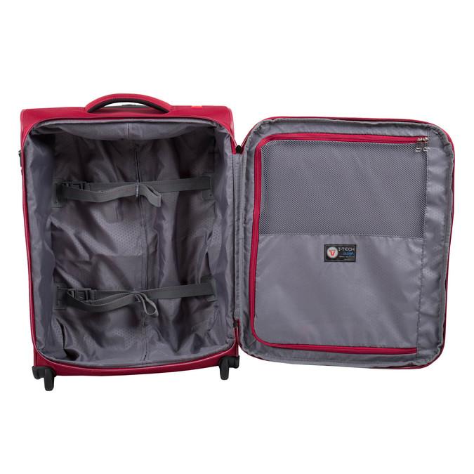 Cestovní kufr na kolečkách roncato, červená, 969-5644 - 15