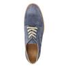 Kožené polobotky na výrazné podešvi weinbrenner, modrá, 823-9607 - 19