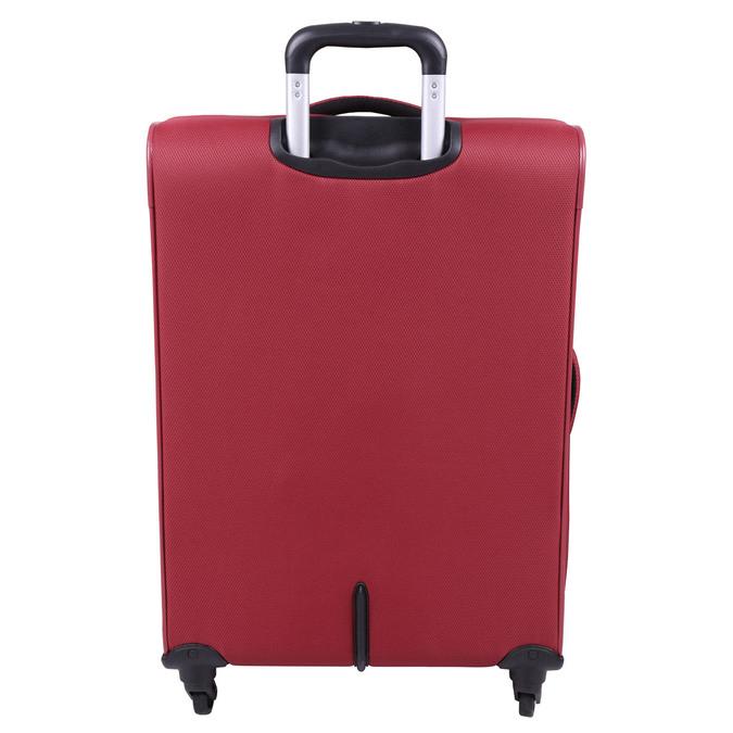 Červený cestovní kufr roncato, červená, 969-5637 - 26