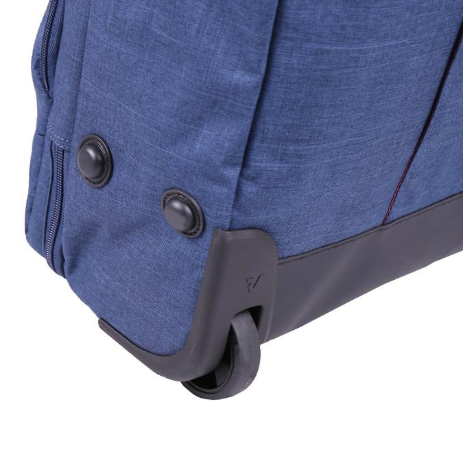 Cestovní taška na kolečkách roncato, modrá, 969-9646 - 19