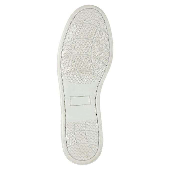 Kožené Boat Shoes bata, modrá, 2021-856-9604 - 26