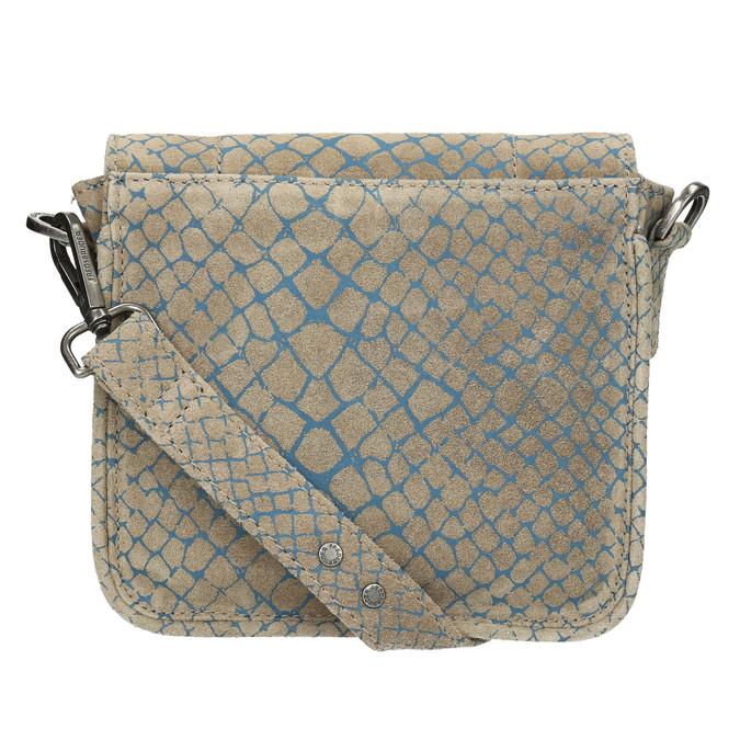 Crossbody kabelka se vzorem fredsbruder, hnědá, 963-9032 - 26