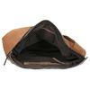 Kabelka z broušené kůže bata, hnědá, 963-3137 - 15