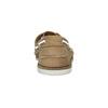 Kožené mokasíny s perforací bata, hnědá, 526-4631 - 17