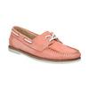 Dámské kožené mokasíny bata, růžová, 526-5632 - 13