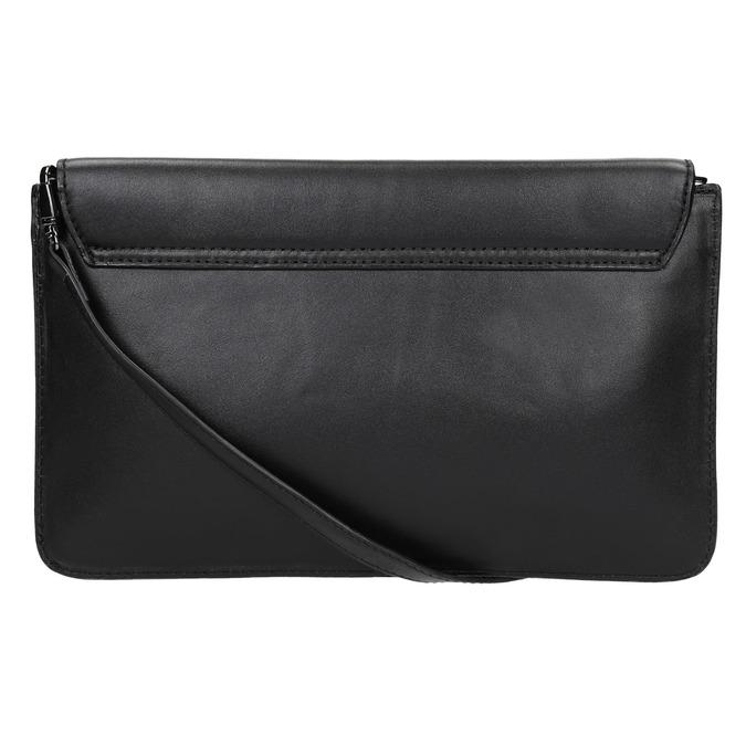 Černé kožené psaníčko bata, černá, 964-6219 - 17