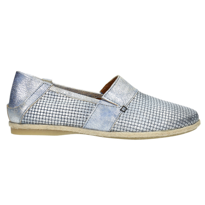 Dámská obuv ve stylu Slip-on bata, modrá, 516-9604 - 15
