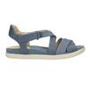 Modré kožené sandály bata-light, modrá, 566-9609 - 15