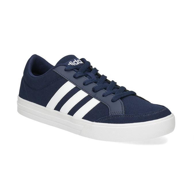 Modré textilní tenisky pánské adidas, modrá, 889-9235 - 13