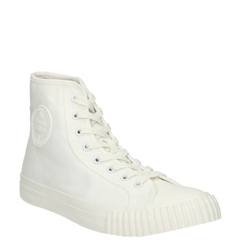 Pánské kotníčkové tenisky bílé bata-bullets, bílá, 889-1291 - 13