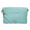 Modrá kožená kabelka fredsbruder, modrá, 964-9037 - 26