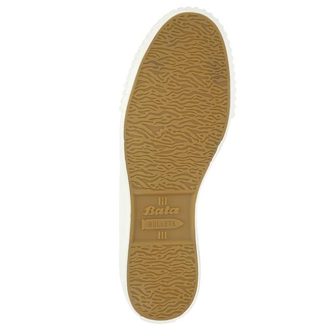 Pánské kotníčkové tenisky bílé bata-bullets, bílá, 889-1291 - 19
