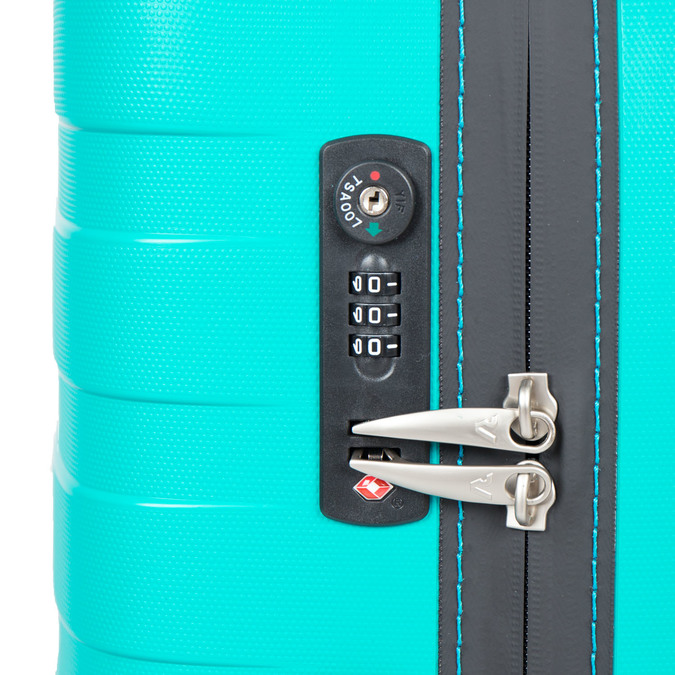 Cestovní kufr na kolečkách roncato, tyrkysová, 960-7604 - 17