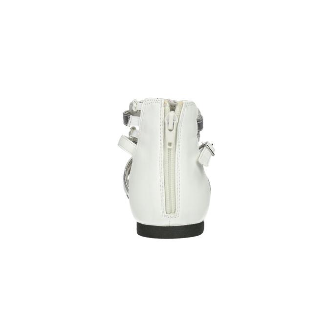 Dívčí páskové sandály bullboxer, bílá, 461-1001 - 17