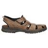 Kožené pánské sandály bata, hnědá, 856-4600 - 15