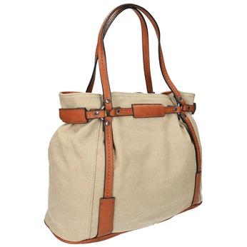 Dámská kabelka bata, béžová, 969-8352 - 13