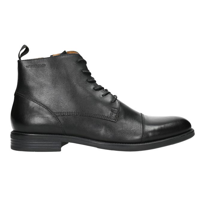 Kožená kotníčková obuv vagabond, černá, 894-6001 - 15