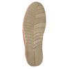 Dámské kožené Slip-on s perforací weinbrenner, oranžová, 516-5609 - 26