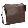Kožená taška v Crossbody střihu bata, hnědá, 964-4222 - 13