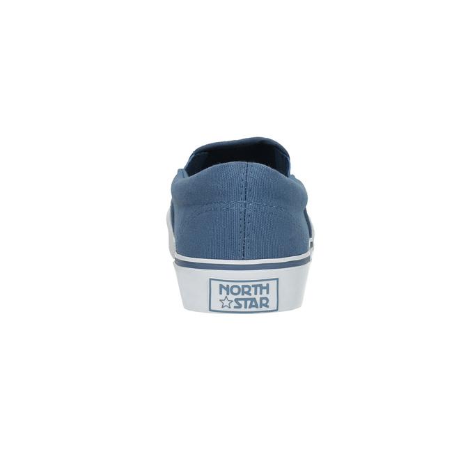Modrá obuv ve stylu Slip-on north-star, modrá, 889-9286 - 17